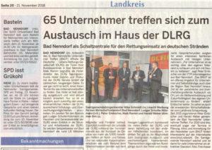 Schaumburger Wochenblatt berichtet über das BNUT11