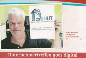 Pressestimmen zum ersten Online BNUT